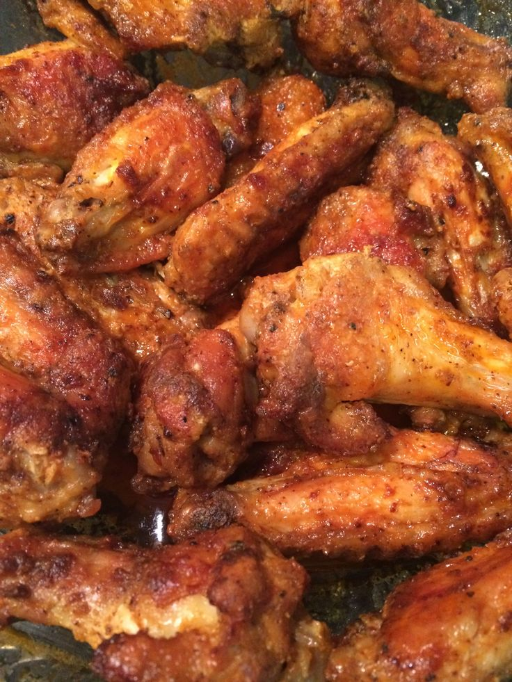These wings are fall-off-the-bone tender and amazing. They are extremely easy to make and turn out perfect every single time. They are nice and spicy but if you are more fainthearted, you can leave...