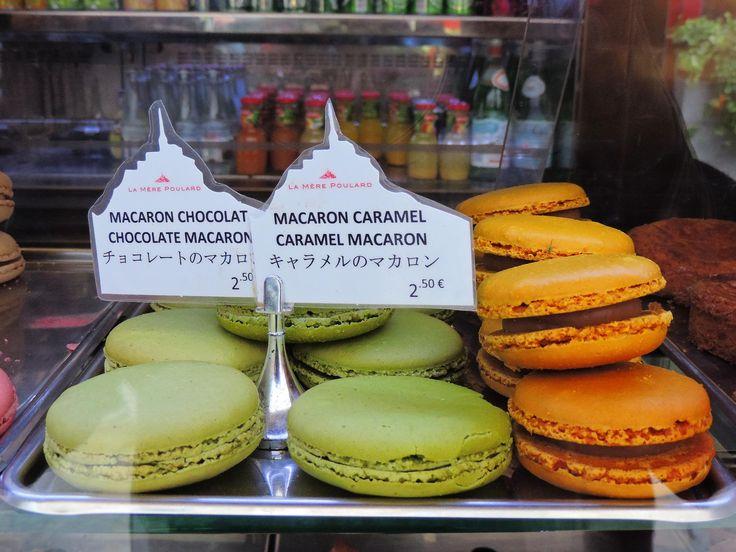 Macarons.La Mere Poulard, Mont-St-Michel