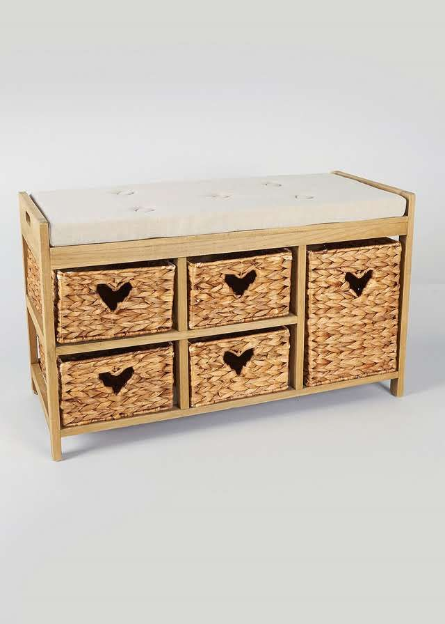 5 Drawers Unit (80cm x 35cm x 50cm) View 1