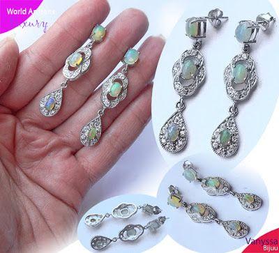 "Vanyssa Bijuu - Bijuterii: ""Psychedelic Beauty of Authentic Ethiopian Opal"" -..."