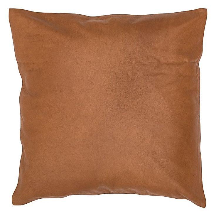 Square Leather Cushion by Amigos De Hoy   Zanui