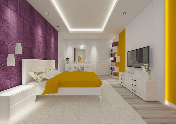 Bedroom #bedroom #modern #color