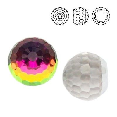 4869 Ball 6mm Vitrail Medium  Dimensions: 6,0 mm Colour: Crystal Vitrail Medium 1 package = 1 piece