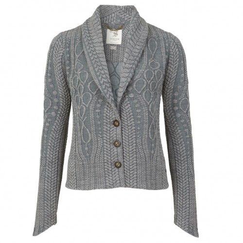 Paige Chunky Knit Wool Blend Blazer. Buy @ http://thehubmarketplace.com/PAIGE-CHUNKY-KNIT-WOOL-BLEND-BLAZER-GREY