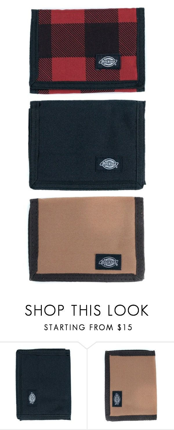 Grab A Dickies Wallet For Just £9.95. You've Got A Choice Of These Three Colours Too. by blacksheepstore on Polyvore