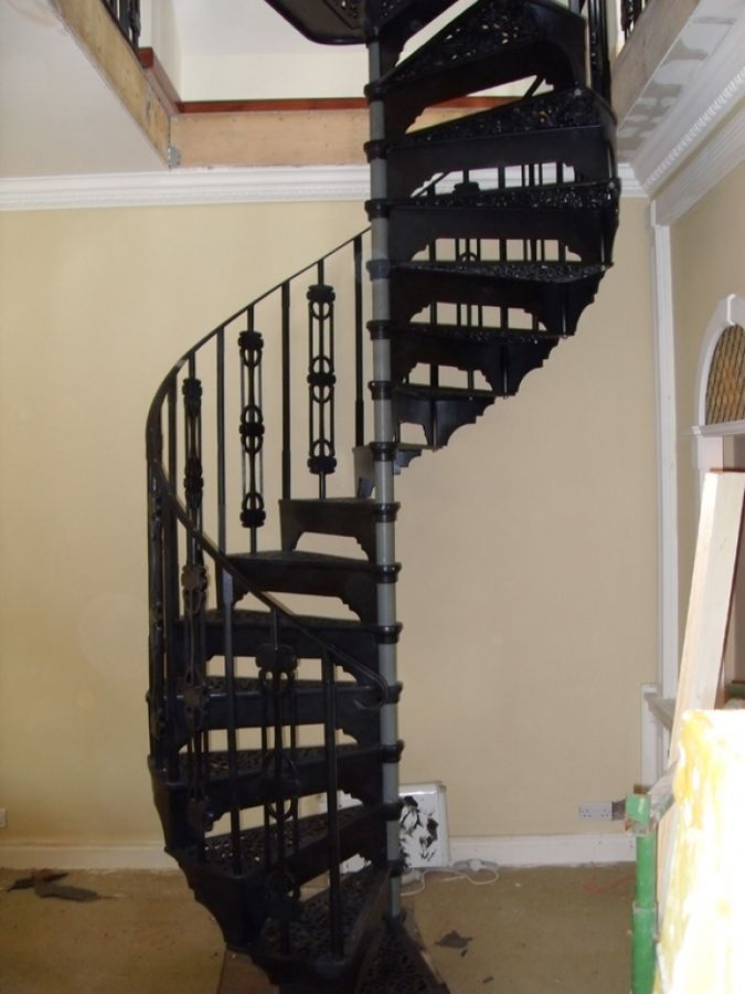 Spiral Staircase Cost : Sharp Spiral Staircase Wooden Frame And .