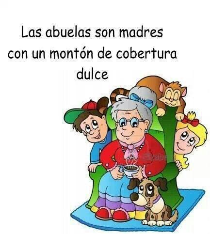 Felicidades a los abuelitos