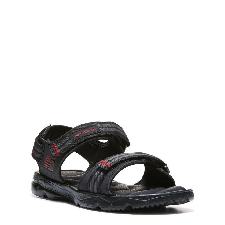 New Balance Men's Plush 2.0 Rafter Medium/Wide Sandals (Black) - 11.0 M