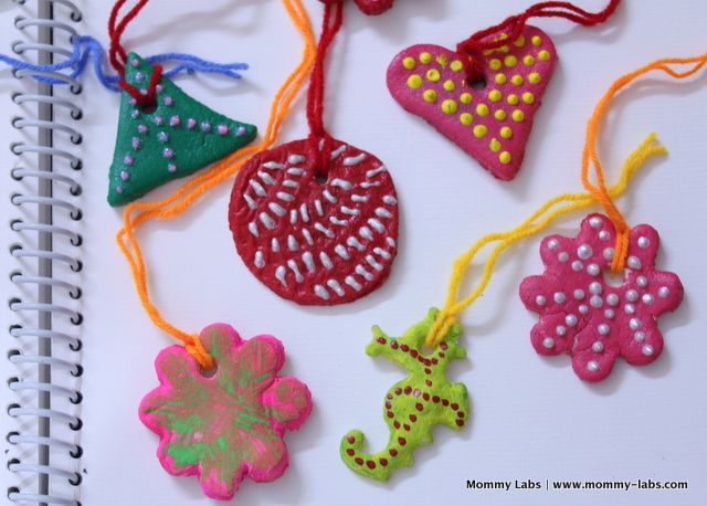 Christmas art craft decoration for kids salt dough for Walmart arts and crafts