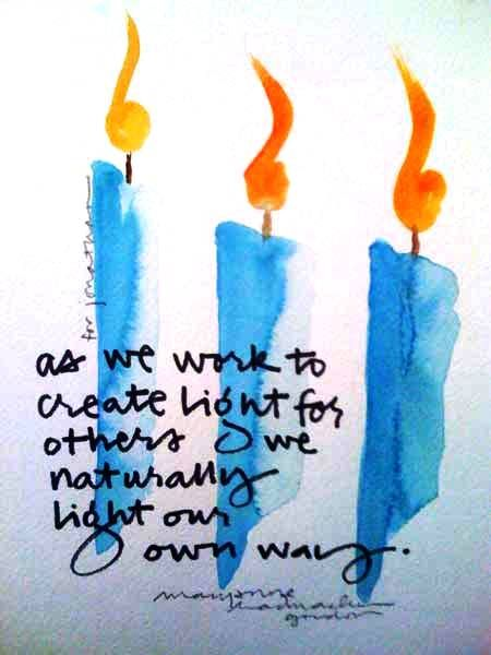 """Lanternland Home Lighting Blog: """"As we work to create light for others, ..."""