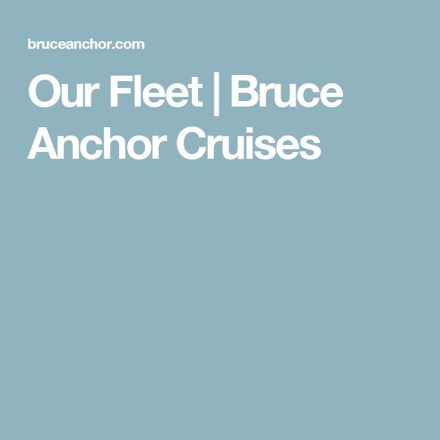 Our Fleet | Bruce Anchor Cruises