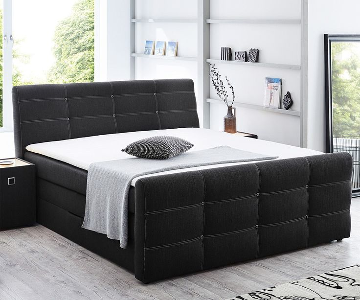die besten 25 boxspringbett mit bettkasten 180x200 ideen auf pinterest boxspringbett mit. Black Bedroom Furniture Sets. Home Design Ideas