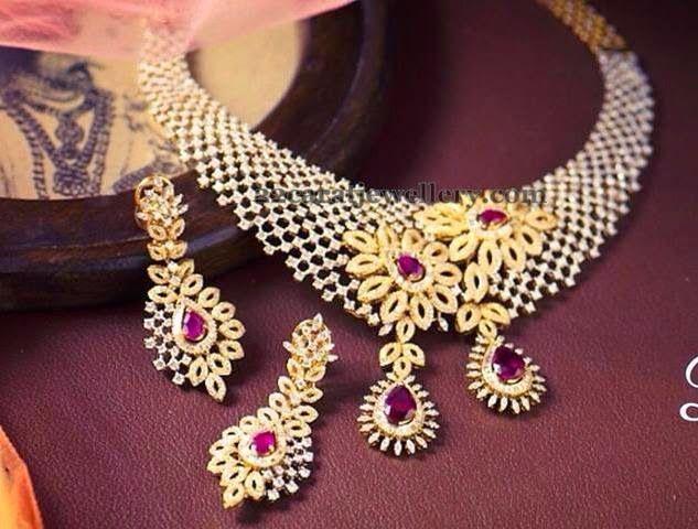 Jewellery Designs: Spectacular Indian Diamond Jewelry