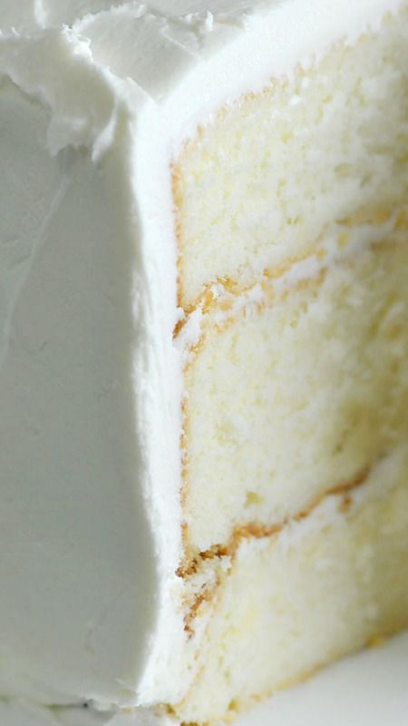The Best White Cake Recipe Ever