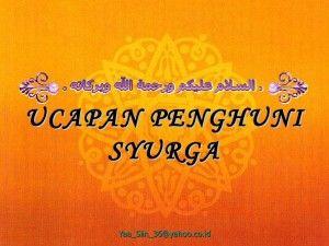 """Salam bisa memberikan Sinergi Kehidupan Ary Ginanjar mengatakan saat mengucap, """"Assalaamu'alaikum Warahmatullaahi Wabarakaatuh"""", sesungguhnya kita mendoakan"""