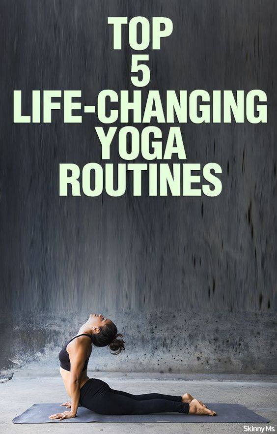 Top 5 Life-Changing Yoga Routines - Simply the best yoga routines i've found. #playinspired