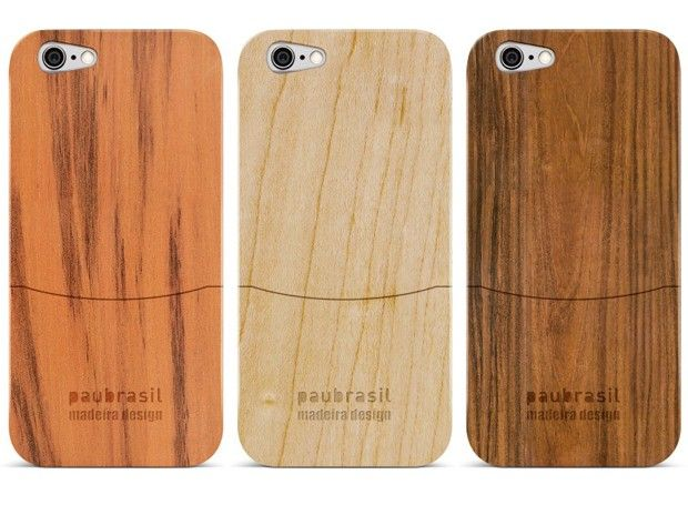 A empresa Paubrasil apostou na sustentabilidade para elaboração da sua nova linha de capinhas para celular
