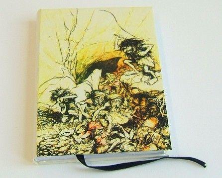 Katorga krasnoludów w Nibelheim - Hand Made, nasz wyrób na wasze zamówienie | klar rare bookbinding
