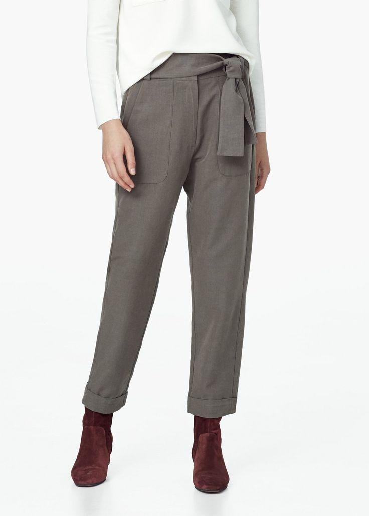 Pantaloni cargo - Pantaloni da Donna   MANGO
