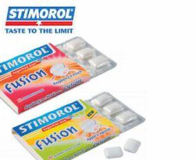 Bedrukte kauwgom van topmerk Stimorol bedrukt met persoonlijk logo en bedrijfsreclame - http://www.promosweets.be/index.html
