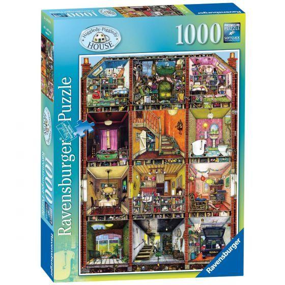 Ravensburger Puzzle 1000pc - Higgledy Piggledy House