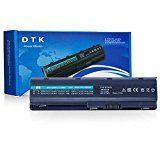 Dtk laptop Battery for Hp G32 G42 G62 G72 G4 G6 G6t G7 ; Compaq Presario Cq32 Cq42 Cq43 Cq430 Cq56 Cq62 Cq72 ; Hp Pavilion Dm4 ; Fits Mu06 593553-001 593554-001 Mu09 Hstnn-lb0w 636631-001 593550-001