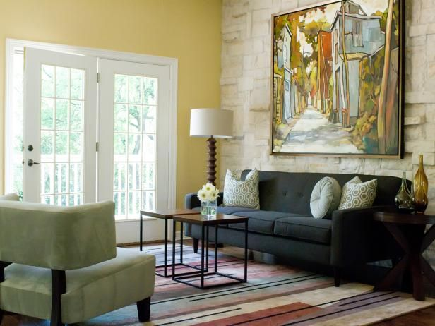 HGTVRemodels tells you how to use yellow in your home to set a mood.