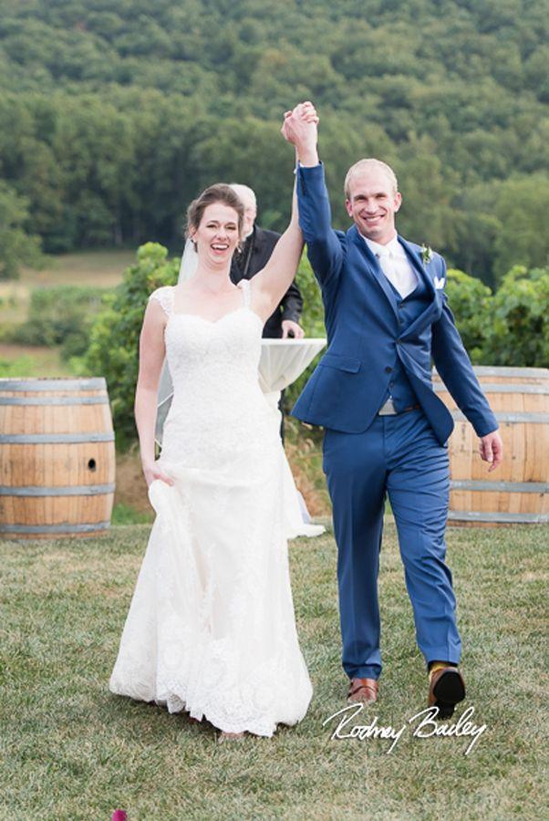 Breaux Vineyards Wedding Virginia Photographers Northern Winery