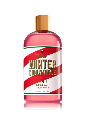 Signature Collection Winter Candy Apple 2-In-1 Bubble Bath & Body Wash - Bath And Body Works