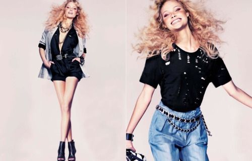 Glam Rock style / фото 2016