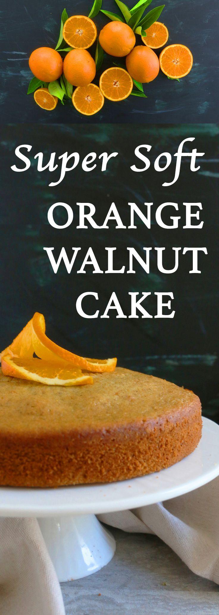 simple cake | plain cake | coffee cakes | orange cake | walnut cake | soft cake | orange recipes | cake recipes