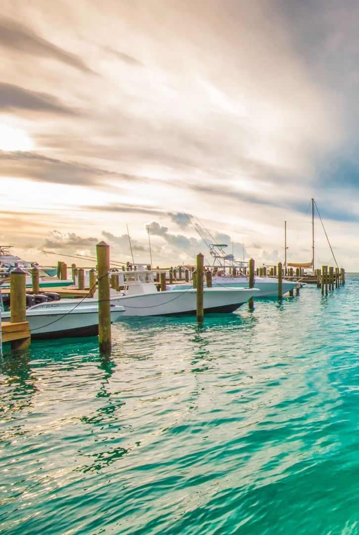 Bimini, Bahamas - just 50 miles from the Florida coast.
