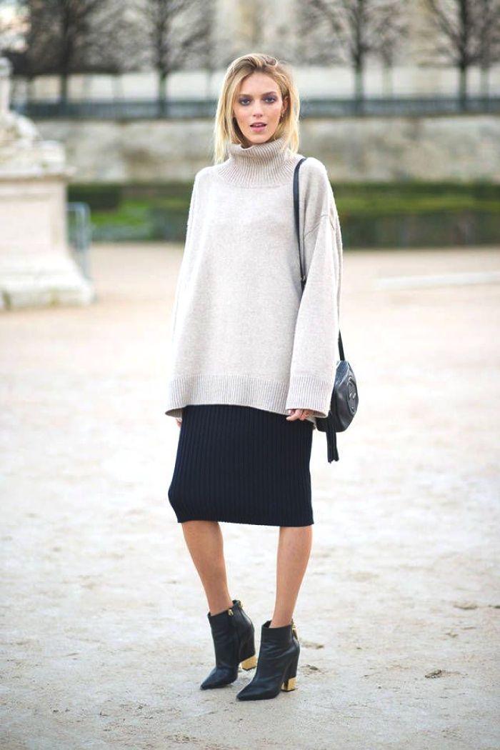Inspiring Street Style | 6 Hot Ways to Wear Cozy, Chic, Chunky Oversized Sweaters - TrendSurvivor