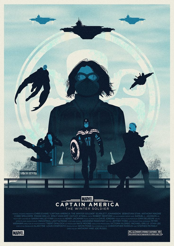 Captain America: The Winter Soldier - Eric Veiga