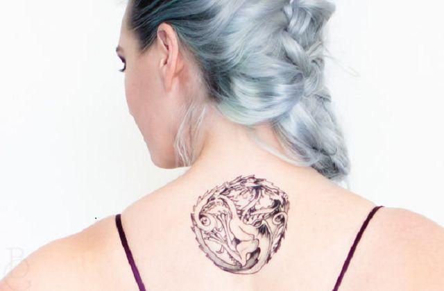 6 Tatuajes temporales de Juego de Tronos: Casa Targaryen