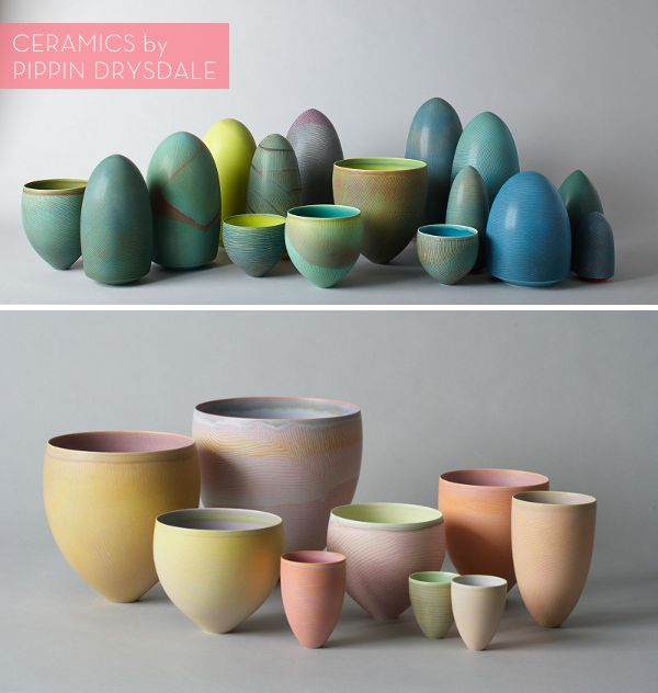 Australian ceramicist Pippin Drysdale has been creating stunning porcelain vessels for the last 30 years.