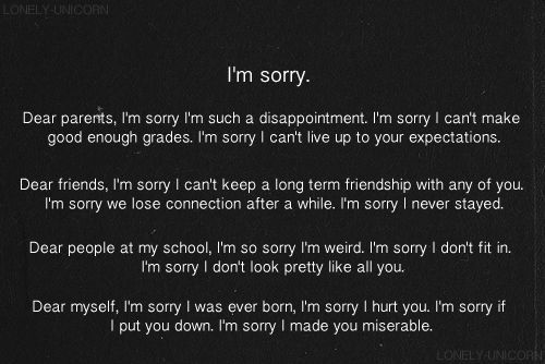 17 Best I'm Sorry Quotes On Pinterest