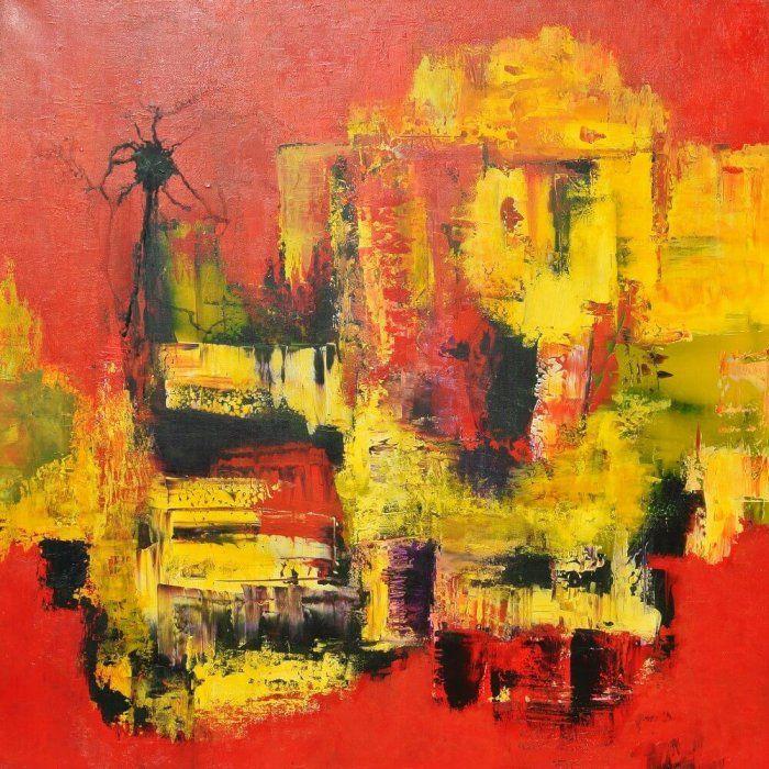 Maleen Rosel - abstrakt maleri