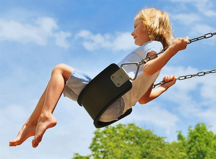 Image result for council estate with swing