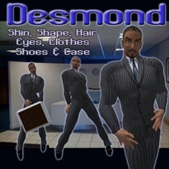 """Boa's Desmond - complete """"business man"""" male avatar include clothing"""