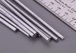 Solid Aluminum Rod 1/8