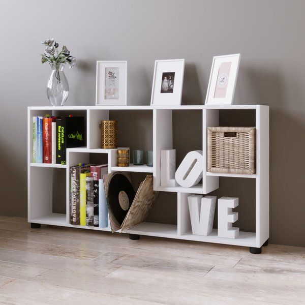 Pisa Is A Practical And Attractive Bookshelf With 8 Spacious