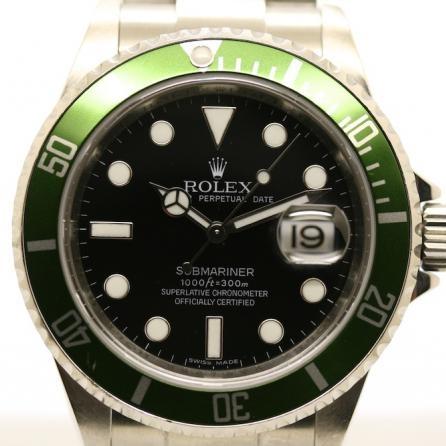 Rolex Submariner ghiera verde 16610LV