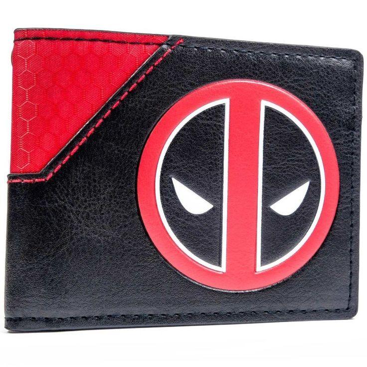 The unique Wallet Deadpool Emblem Colossus Comic-Con X-Men Origins  -