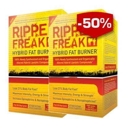 Pharmafreak Ripped Freak hjälper dig att bränna maximalt med fett och bli riktigt deffad. Ripped freak är den första fettförbränningsprodukten som använder sig av en avancerad hybridteknik som ger de aktiva ingredienserna optimal effekt i kroppen.