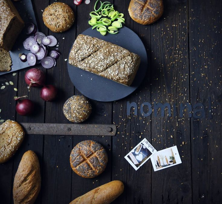 ☝ Nominal ☝ gluten free tables - foodstyling & photography for Czech company