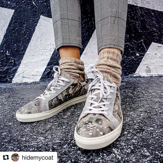 Grace by @hidemycoat   To shop follow our link in the bio ( wrocksfootwear.com )  #grace #sneakers #washedrocks   #Repost @hidemycoat (@get_repost)  ・・・  Rocking @washedrocks sneakers with woolen socks and plaid pants. Soon on site. #washedrocks
