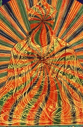 Padmasambhava Rainbow Body [I am the bodhisattva who saves the people on the bus from the smell of my feet]