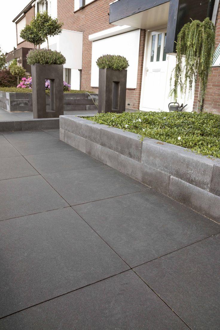 15 besten garten terrassengestaltung mit pflaster mauersteinen aus beton bilder auf pinterest. Black Bedroom Furniture Sets. Home Design Ideas