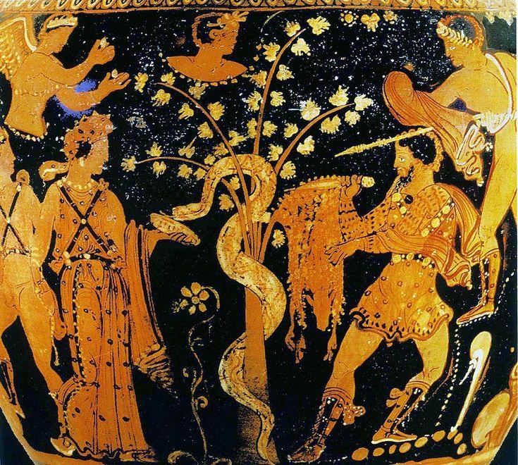 Σε όλους μας είναι γνωστή η ιστορία του Χρυσού Κριαριού που έσωσε τον Φρίξο και την Έλλη, τα παιδιά του Αθάμα και της Νεφέλης. Η Νεφέλη ήταν...